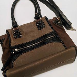 Melie Bianco Shoulder Bag W Crossbody Strap